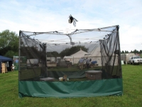 Our flying bees tent